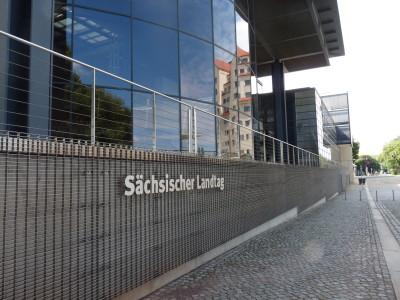 Sächsischer Landtag Rückseite